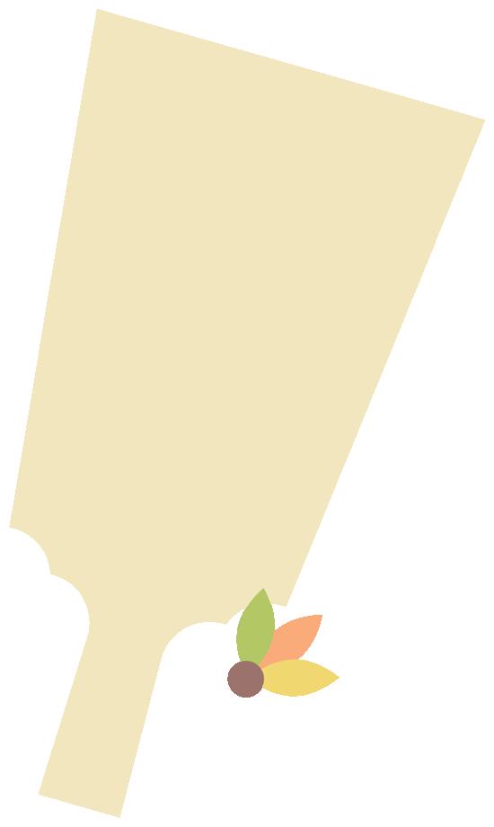 羽子板と羽根のフレーム飾り枠イラスト<ベージュ>(W530×H900px)