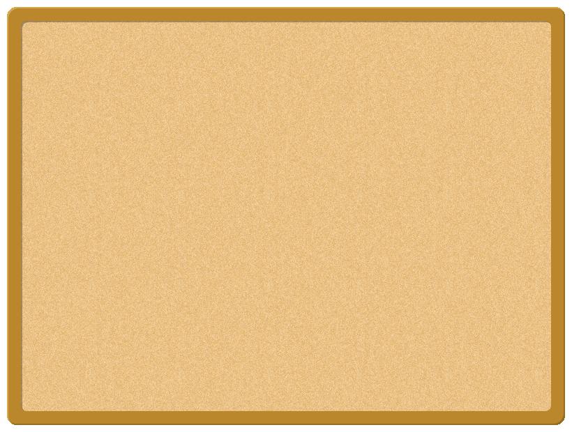コルクボード(掲示板)のフレーム飾り枠イラスト(W800×H600px)