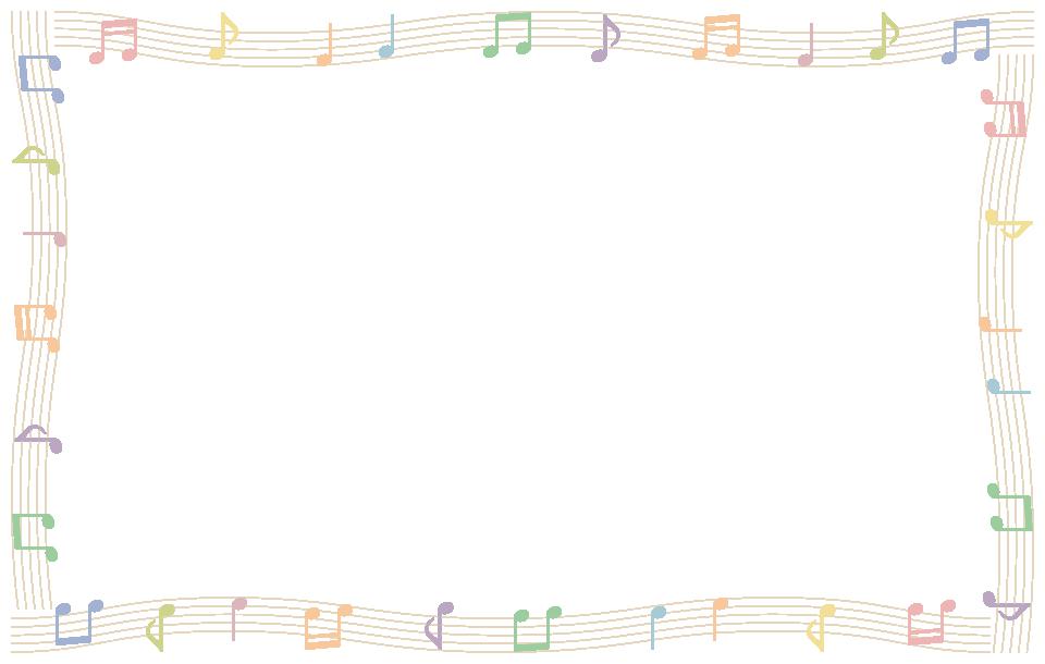 音符と五線譜(楽譜)の ...