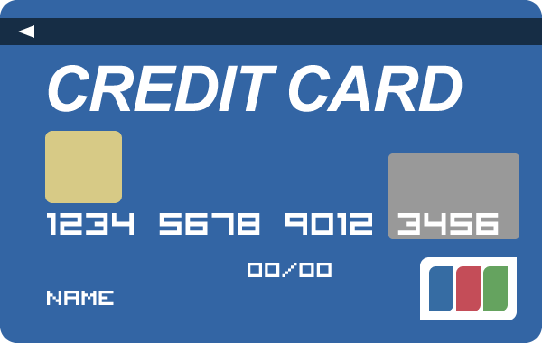 クレジットカードのイラスト<裏・表> | 無料フリーイラスト素材集 ...