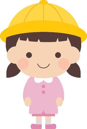 かわいい幼稚園生保育園児の男の子女の子 無料フリーイラスト