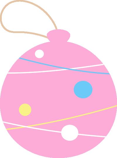 水風船(ヨーヨー)のイラスト<ピンク>