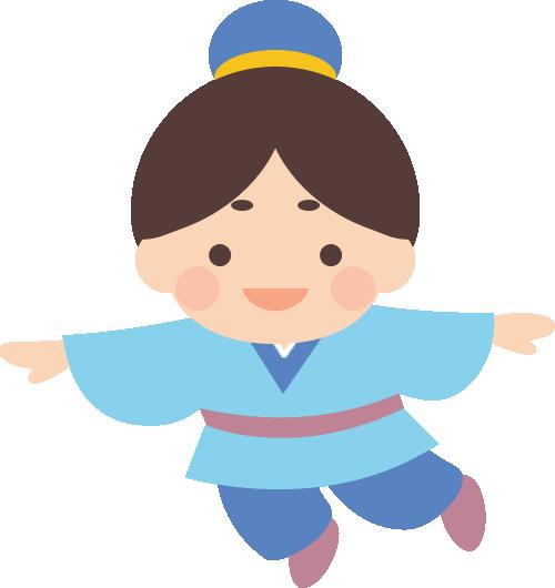 [七夕]かわいい彦星のイラスト