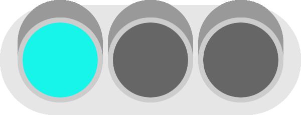 青信号(信号機)のイラスト