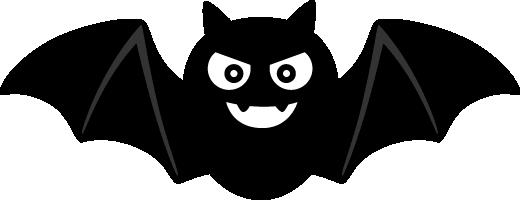 ハロウィンかわいいコウモリのイラスト 無料フリーイラスト素材集