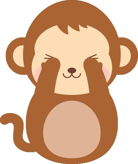 三猿(見ざる言わざる聞かざる)...