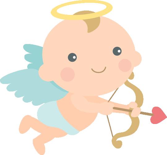 [バレンタインイラスト]愛のキューピット<男の子>
