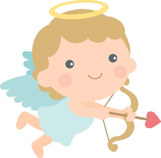 [バレンタインイラスト]愛のキューピット<女の子>