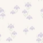 菖蒲(しょうぶ・あやめ)の背景パターン素材