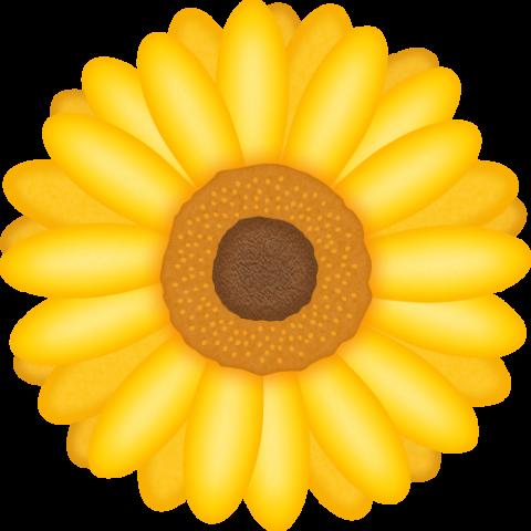 ガーベラの花のイラスト<黄色>