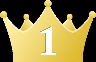 シンプルな王冠イラスト<ランキング1位>