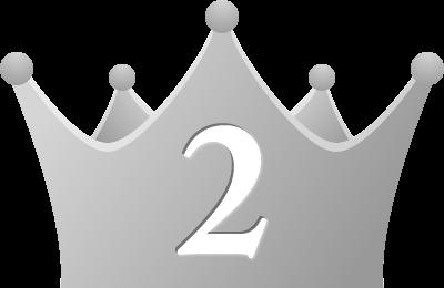 シンプルな王冠イラスト<ランキング2位>