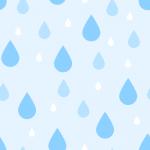 雨粒(水滴)の背景パターン素材