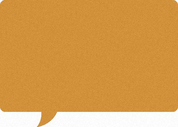 コルクボード風の吹き出しイラスト素材<長方形>