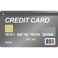 クレジットカード(プラチナカード)のイラスト