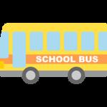 【車のイラスト】スクールバスのイラスト素材