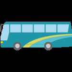【車のイラスト】観光バスのイラスト素材