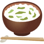 七草粥のイラスト素材