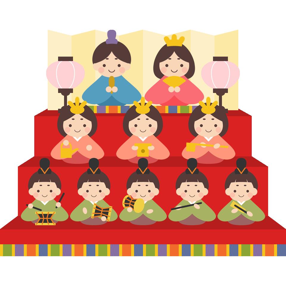 ひな祭り イラスト | 無料フリーイラスト素材集【frame illust】