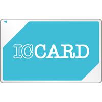 [icoca風]電子マネー(ICカード)のイラスト