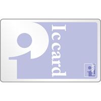 [pitapa風]電子マネー(ICカード)のイラスト