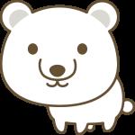 白熊のイラスト