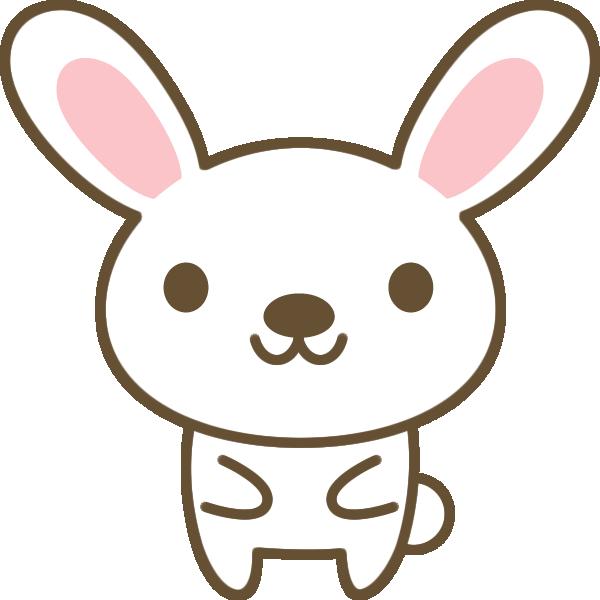 かわいい兎(うさぎ)のイラスト