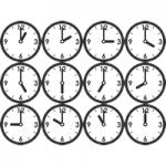 時計(時刻)のイラスト