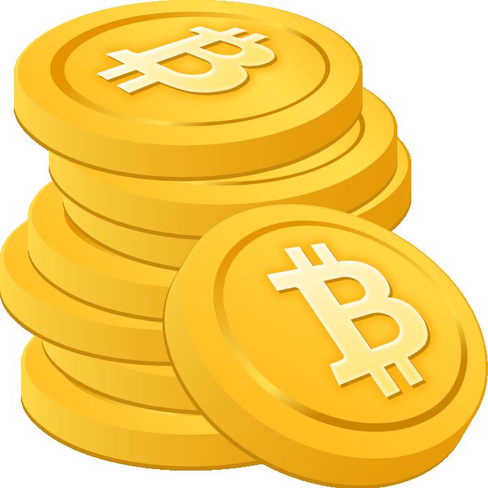 ビットコインのイラスト画像