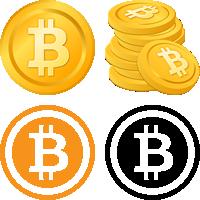 ビットコインのイラスト