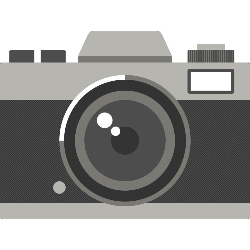 カメラのイラスト 無料フリーイラスト素材集frame Illust