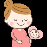 妊婦さんのイラスト素材