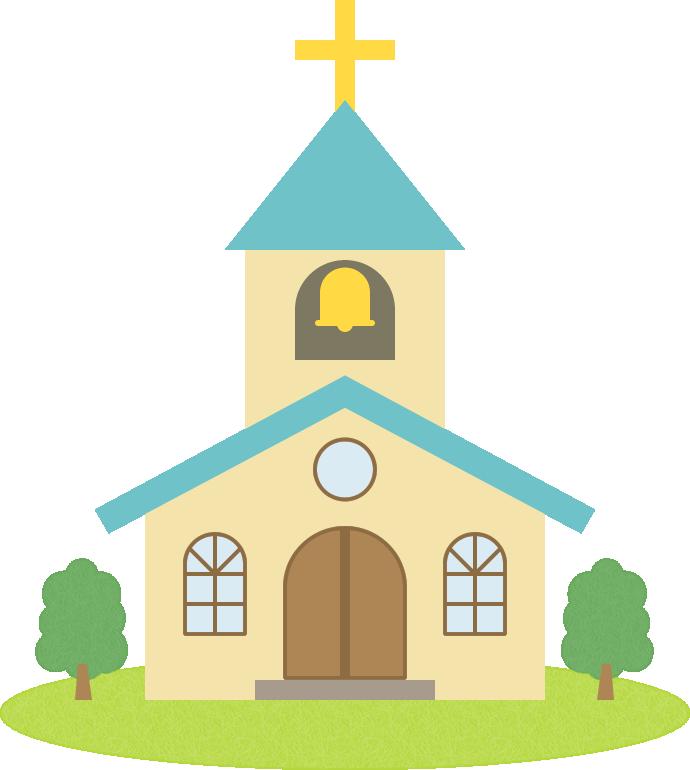 教会チャペルのイラスト 無料フリーイラスト素材集frame Illust