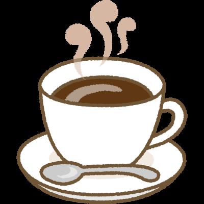 珈琲(コーヒー)のイラスト