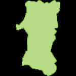 【日本地図】秋田県の地図イラスト