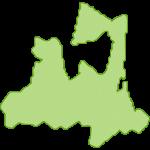 【日本地図】青森県の地図イラスト