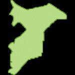 【日本地図】千葉県の地図イラスト