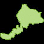 【日本地図】福井県の地図イラスト