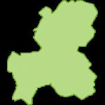 【日本地図】岐阜県の地図イラスト