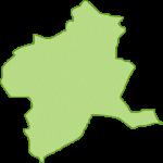 【日本地図】群馬県の地図イラスト