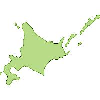 【日本地図】北海道の地図イラスト