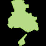 【日本地図】兵庫県の地図イラスト