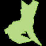 【日本地図】茨城県の地図イラスト
