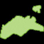 【日本地図】香川県の地図イラスト