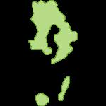 【日本地図】鹿児島県の地図イラスト