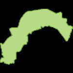 【日本地図】高知県の地図イラスト