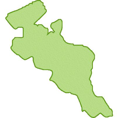 京都府の地図イラスト