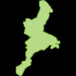 【日本地図】三重県の地図イラスト
