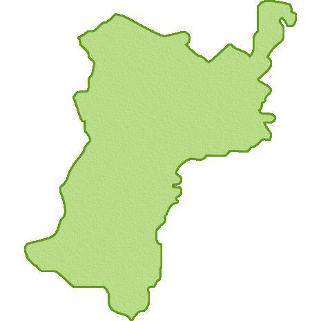 宮城県の地図イラスト