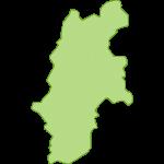 【日本地図】長野県の地図イラスト